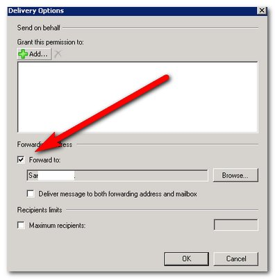 Hoe configureer je Mail Forwarding in Exchange Server 2007